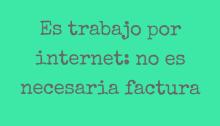 trabajo por internet