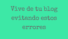 vivir de tu blog